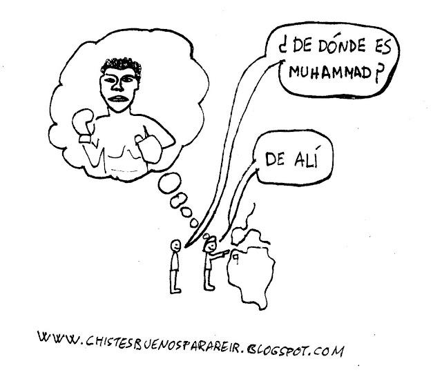 ¿De dónde es Muhammad? De Alí