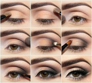 How-to-apply-natural-makeup-&-eye-makeup-ideas-for-brown-11