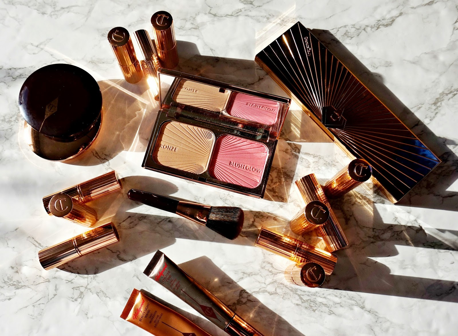 Charlotte Tilbury Bronze & Blush Review, Swatches & Giveaway