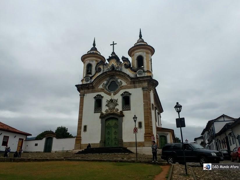 Igreja Nossa Senhora do Carmo - Roteiro 1 dia em Mariana, Minas Gerais