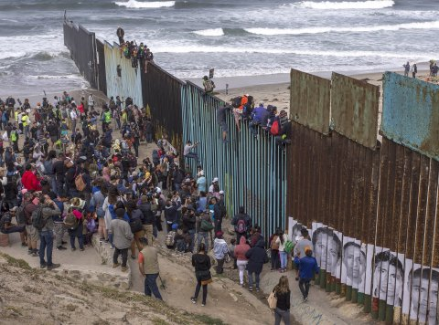 Trump's wall needed here!