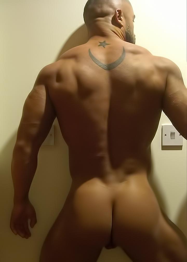 Francois sagat and more muscular men pissing 8