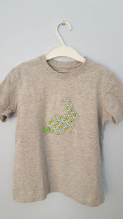 A new bunny T-shirt DIY