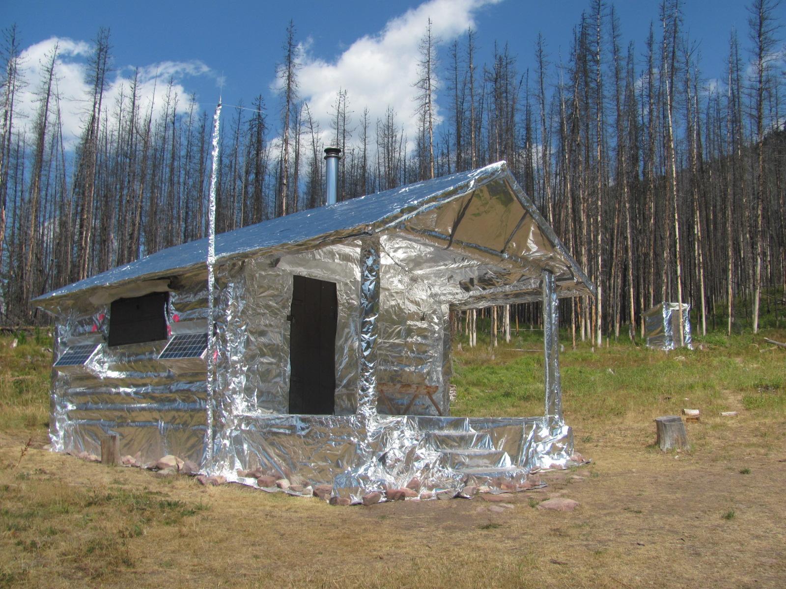 Perch's hunting cabin - ALDEER COM