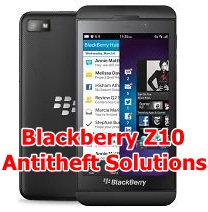 Remove Anti Theft Blackberry Z10