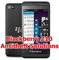 Remove Anti Theft Blackberry Z10