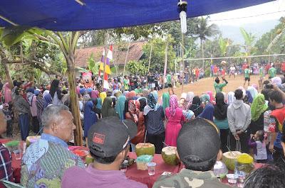 Desa Mandapa Jaya Sukses Gelar Liga Bola Voli