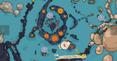 Penguin, Gunter Locations, Pirates of the Enchiridion, Adventure Time, Firebreak Island
