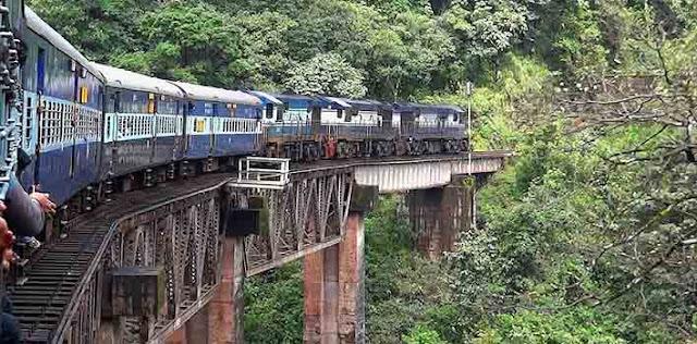 भारत में बनेगी विश्व की सबसे ऊंची रेल लाइन