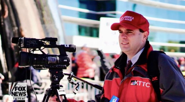 NBC station fires reporter for wearing MAGA hat while covering Trump rally