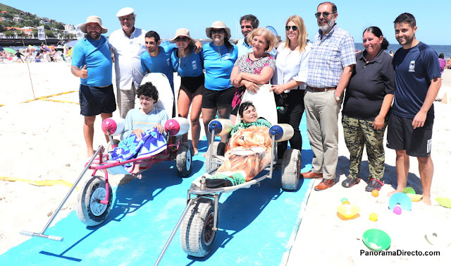 Playa accesible Piriapolis