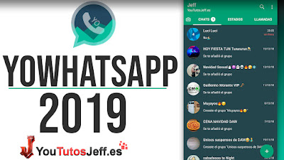 Descargar YoWhatsapp 8.15 2019 ANTI BANEO 100%