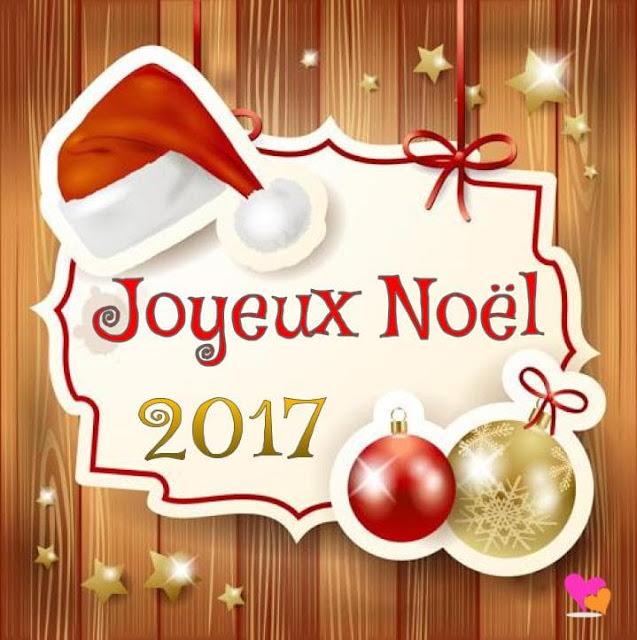 Modèle de carte de vœux de Joyeux Noël en 2017