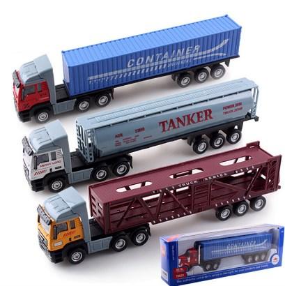miniatur truk kontainer besar