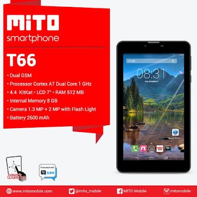 Tablet Android Murah berkualitas Mito T66