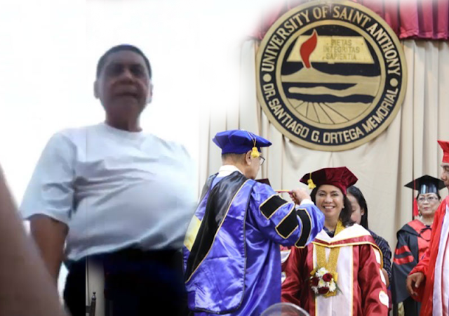 MUST WATCH: Saint Anthony University President allegedly hits 14-yr old kid