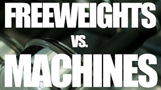 machine weights vs. free
