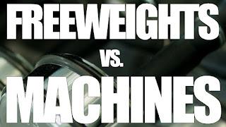 machine weights vs. free