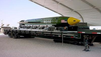 La bomba GBU-43 es la más poderosa que existe sin utilizar combustible nuclear. | Foto: Reuters