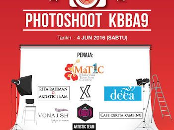 Photoshoot KBBA9 2016 Memang Meriah