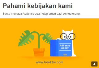 Cara menjaga AdSense agar tetap aman di situs Blog dan Youtube