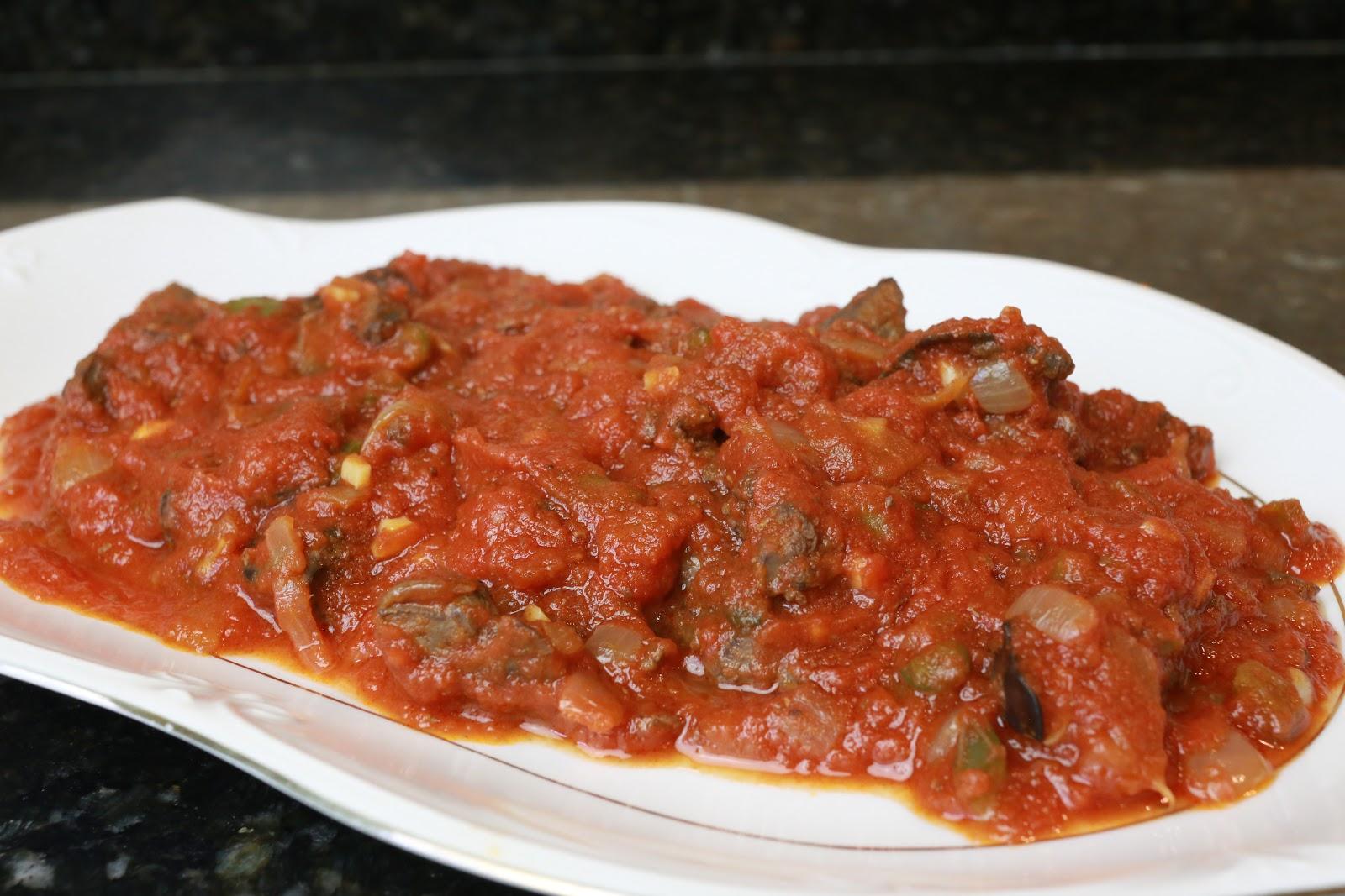 Cocina Andaluza Higaditos De Pollo Con Tomate
