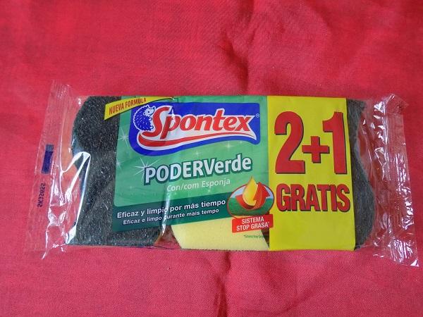 Estropajos Spontex