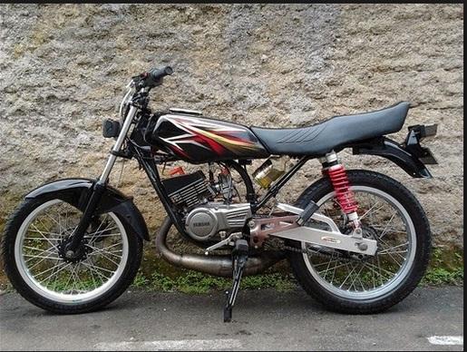rx king 2008 hitam modif