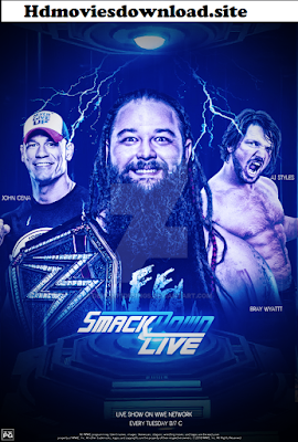 WWE Smackdown Live 12 March 2019 HDTV 480p 300MB