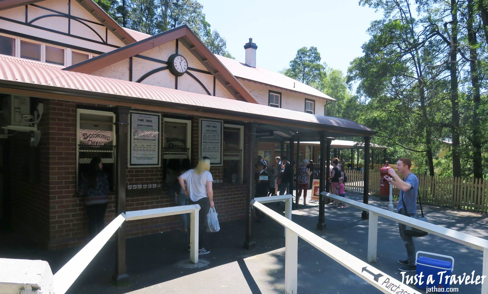 Melbourne-Puffing Billy Steam Train-Puffing Billy Railway-Fare-Boarding-Attractions-Recommendation-Independent Travel-Day Tour-Half Day Tour-Itinerary