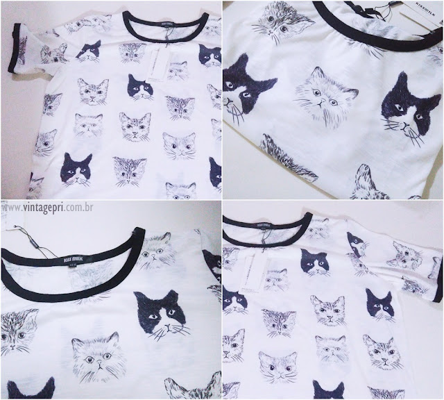 [Review] T-shirt de gatinhos by Irisie.com