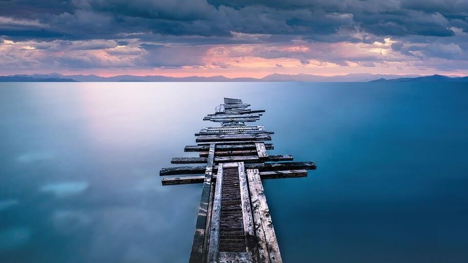 Ocean, Sea, Nature, Scenery, 4K, #6.955