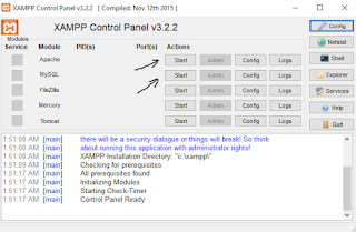 wordpress setup through xampp
