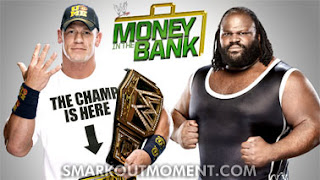 Watch WWE Money in the Bank 2013 WWE Championship Mark Henry vs John Cena YouTube Online