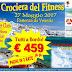 MSC POESIA: CROCIERA DEL FITNESS 2017 - partecipazione aperta a tutti.