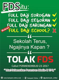 tolak full day school