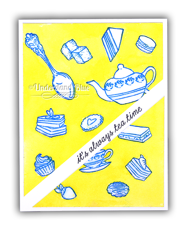 Tea Time card by Understand Blue