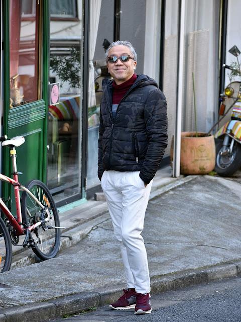 40代メンズのダウンジャケット スタイル