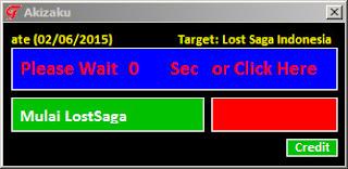 Cheat Lost Saga terbaru 10 Agustus 2015