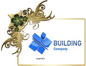تحميل تصميم شعار مكتب إنشاءات هندسيه مفتوح للفوتوشوب, Construction Buildings psd Logo Design