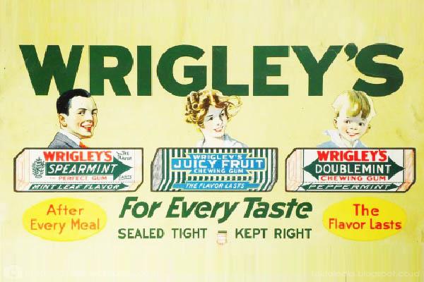 logo Wrigley