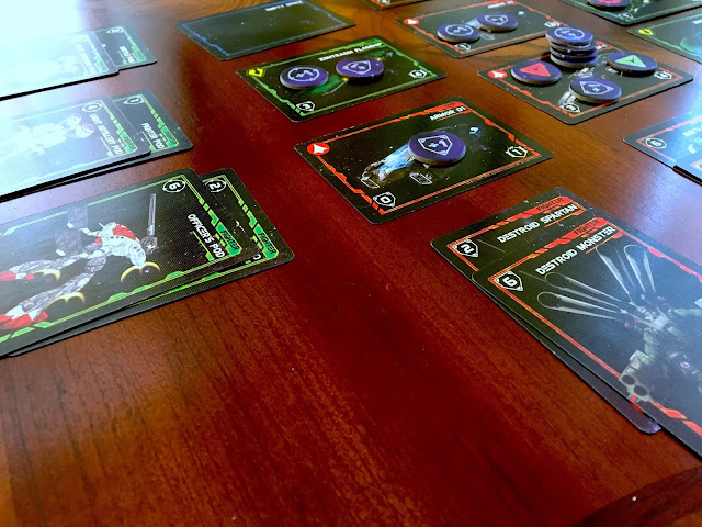 Robotech: Force of Arms Board Game Cards image SDF-1