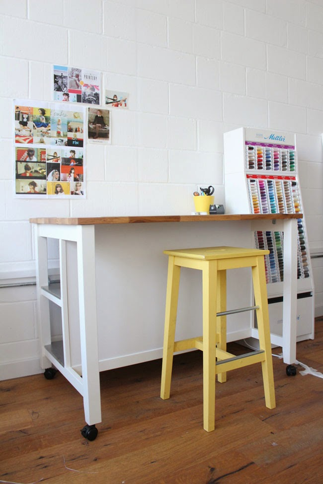 Tilly and the Buttons Cutting Table Hack