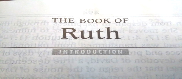 Intro to the book of Ruth; Daily Walk with God Bible reading plan