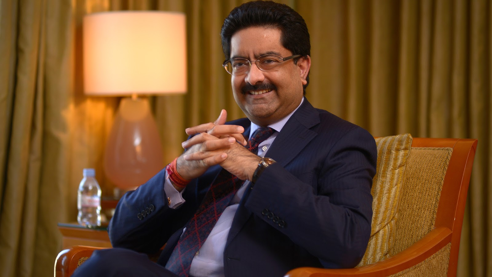 Kumarmangalam Birla richest Indian