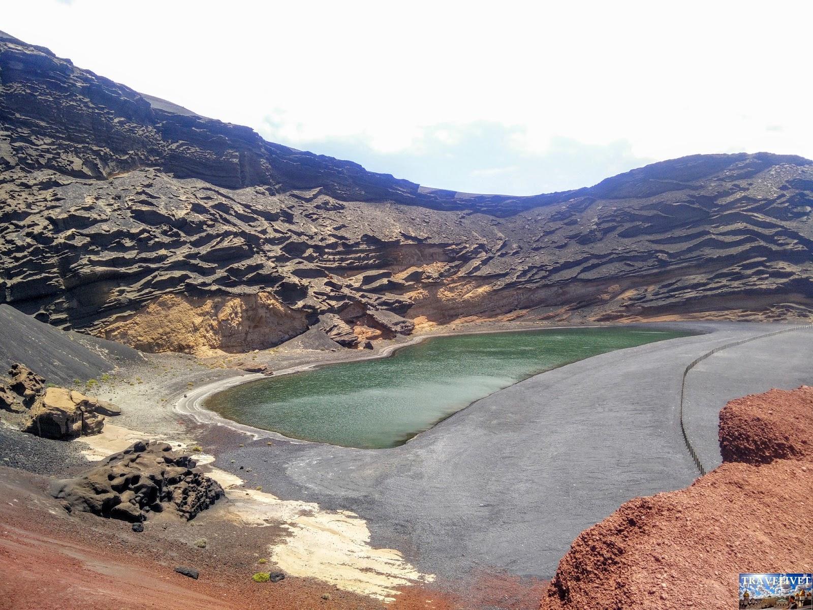 Lanzarote La lagune verte : le charco de los Clicos