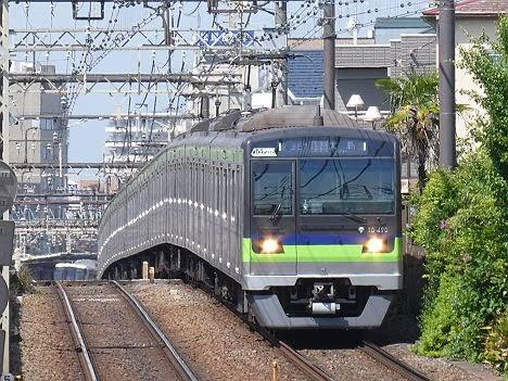 京王電鉄 都営新宿線直通 区間急行 大島行き3 10-300形490F