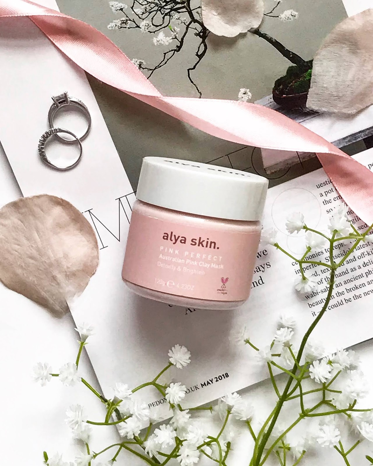 alya skin pink perfect clay mask review blog post