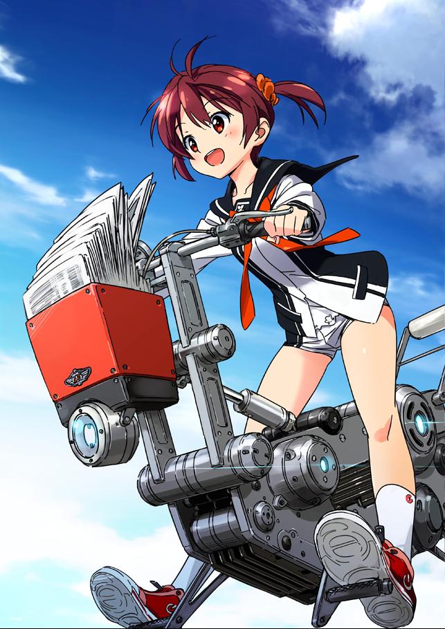 Kitsuneverse: [Anime]/Vividred Operation - First Impression