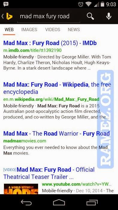Algoritma Mobile Site Google Microsoft Bing